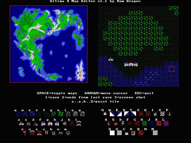 Ultima 4 Map Editor