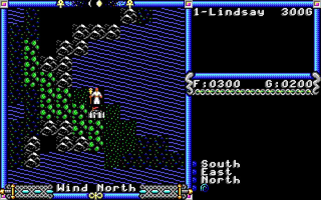 Ultima 4 EGA Graphics