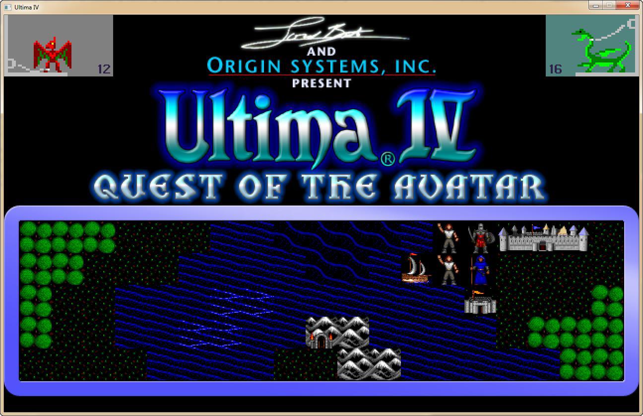 Alternate Ultima 4 Tileset