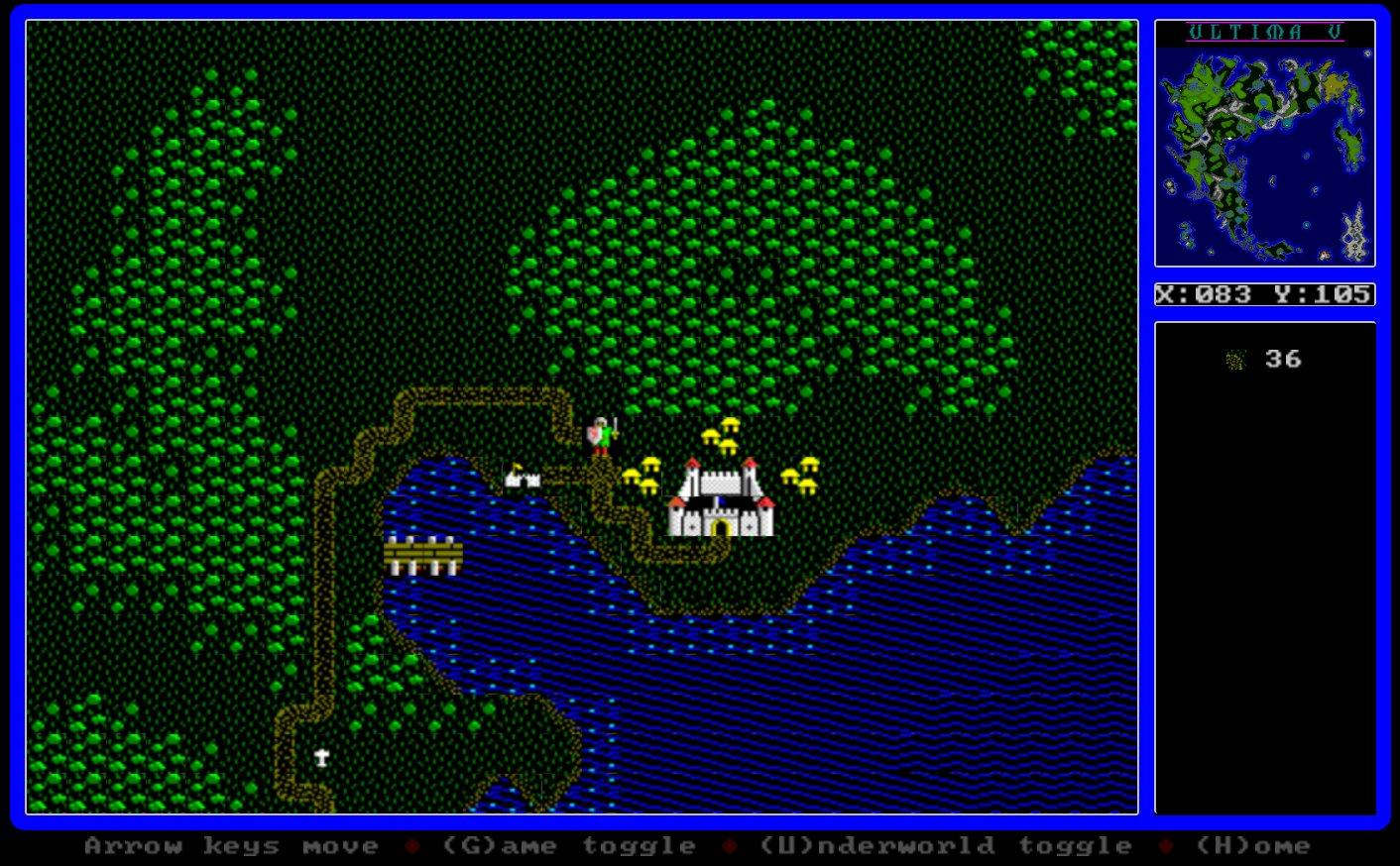 The Ultima IV/V Map Explorer